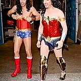 Jonathan and Drew Scott as Wonder Woman