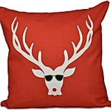 Cool Dude Decorative Holiday Pillow ($19)