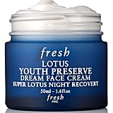 Fresh Lotus Youth Preserve Dream Face Cream