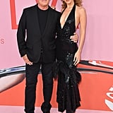Bella Hadid and Michael Kors at the 2019 CFDA Awards
