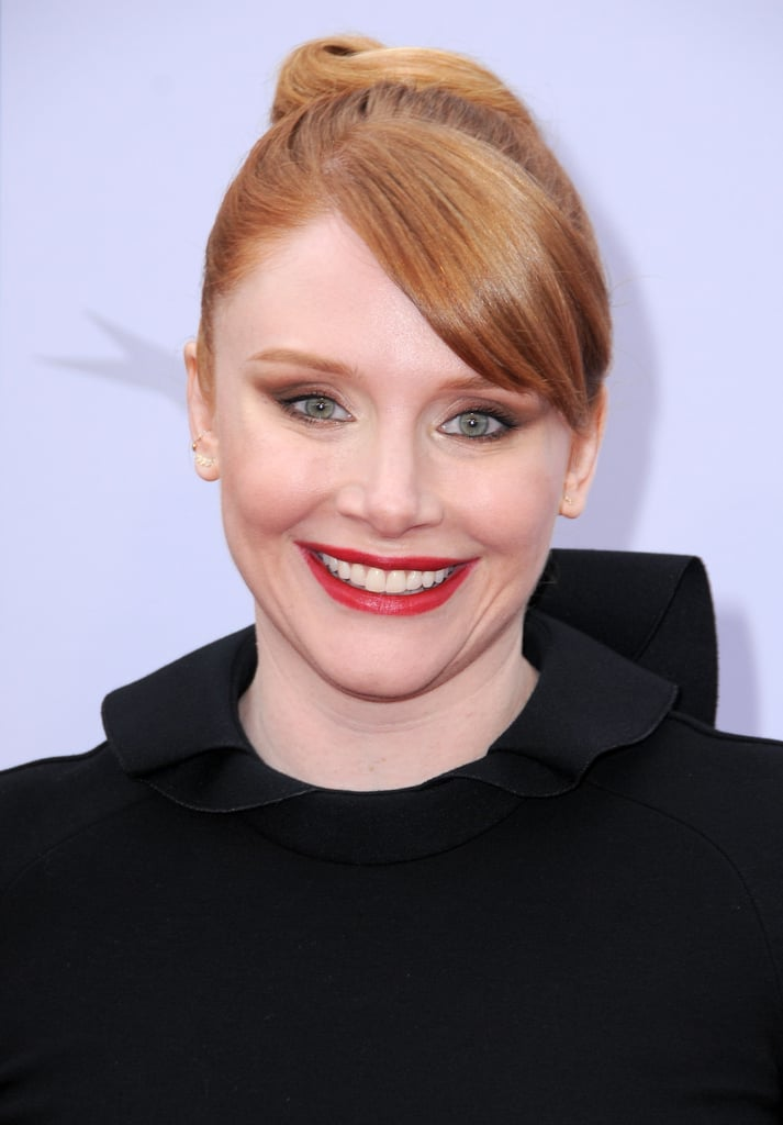Bryce Dallas Howard With Side Bangs