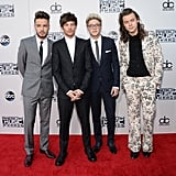 One Direction Takes Over the American Music Awards Red Carpet