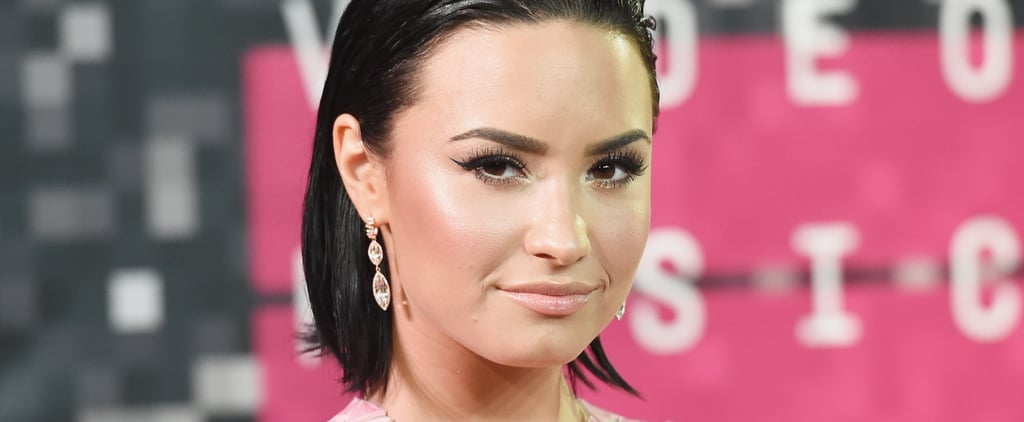 Demi Lovato Is Sporting an Edgy Pink Pixie Cut: Photos
