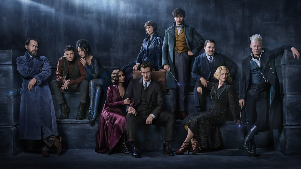 We might have to wait until November for the Fantastic Beasts and Where to Find Them sequel — Fantastic Beasts: The Crimes of Grindelwald — to hit theaters, but thankfully the studio has blessed us with plenty of magical distractions to keep us busy. In addition to a handful of full-length trailers and a bunch of photos of the cast in character, Warner Bros. has also shared some gorgeous new posters. There's a closer look at the movie's exciting new additions (including tons of shots of Jude Law's dashing young Dumbledore), as well as some close-up shots of the film's controversial villain, Grindelwald (Johnny Depp). This isn't the first time we've gotten a sneak peek at the sequel, either. Warner Bros. has been releasing some key details about the new movie over the last year (like what the plot will be about as early as July 2017), but these photos are a revealing look at the next installment in Newt Scamander's (Eddie Redmayne) story. Take a look at every image we've gotten so far (including a photo of Hogwarts!) before Fantastic Beasts: The Crimes of Grindelwald hits theaters on Nov. 16, 2018.      Related:                                                                                                           No, You Didn't Imagine It — Your Angsty Fave, Credence, Is Back For Fantastic Beasts 2
