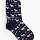Scottie Dog Trouser Sock ($10)