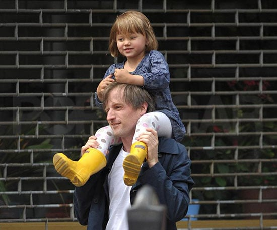 Photo of Spike Jonze and Matilda Ledger Out in Brooklyn