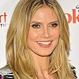 Pictures of Heidi Klum and Natasha Bedingfield Promoting The Heart Truth Campaign at UCLA