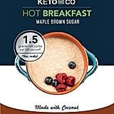 Keto Hot Breakfast Stevia Maple Brown Sugar Flavor