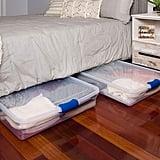 Homz Plastic Underbed StorageBoxes