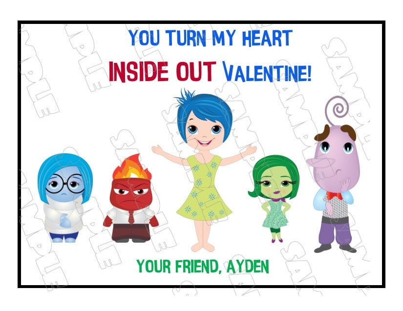 You Turn My Heart Inside Out Valentine