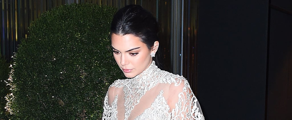 Kendall Jenner Just Walked Down the Street in Your Dream Wedding Dress