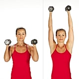 Superset 1, Exercise 1: Overhead Shoulder Press