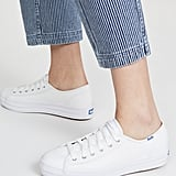 Keds Triple Kick Leather Sneakers