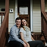 This Sweet Couple Had a Fixer-Upper Shoot to Celebrate Their New Home Together