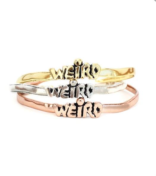 Weird Cuff Bracelet ($58)