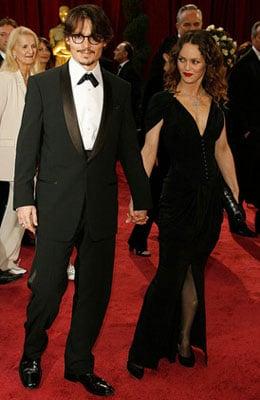Johnny Depp at the Oscars