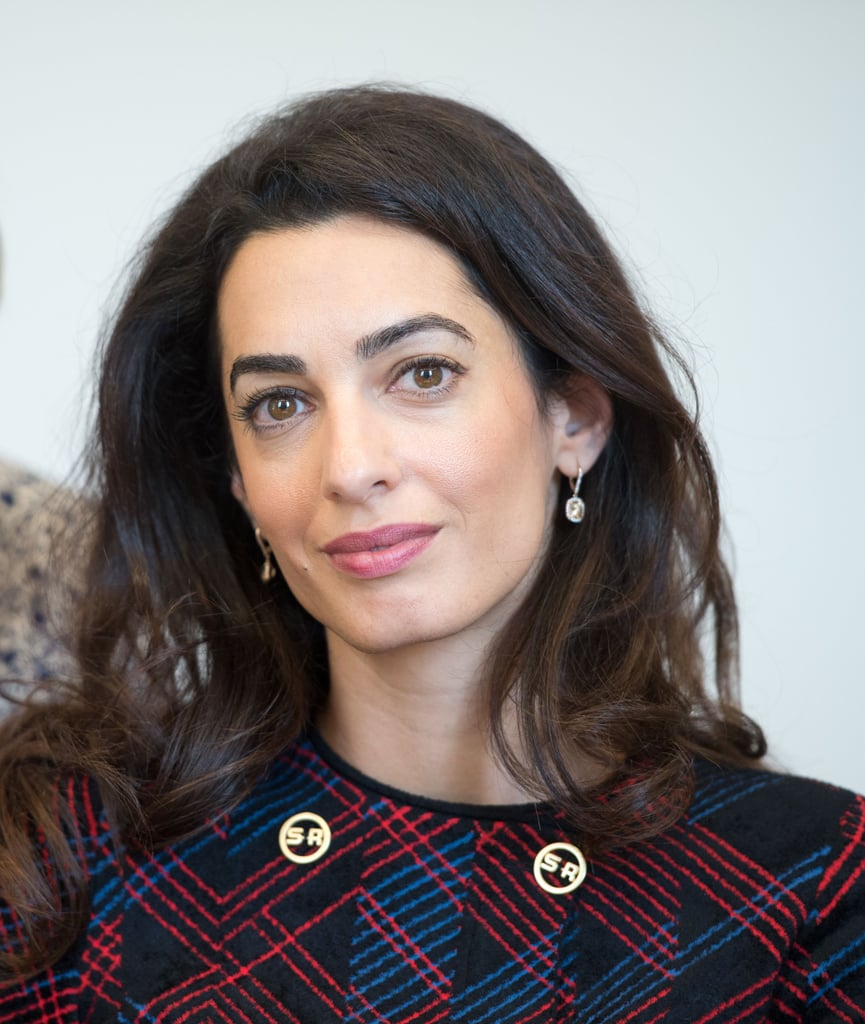 amal clooney sonia rykiel plaid suit september 2016 popsugar fashion uk photo 6. Black Bedroom Furniture Sets. Home Design Ideas