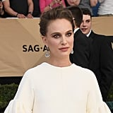 Natalie Portman's Makeup at the 2017 SAG Awards