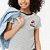 Forever 21 Stripe Minnie Mouse Tee