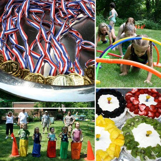 Olympic Party Ideas For Lets Move! Olympic Fun Day