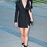 Shailene Woodley's Neon Orange Eye Shadow Trend
