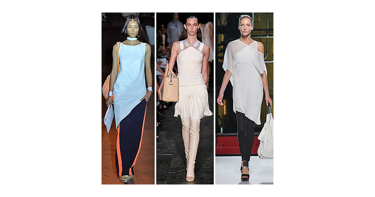 Spring 2012 fashion week trends dresses over pants for When is fashion week over