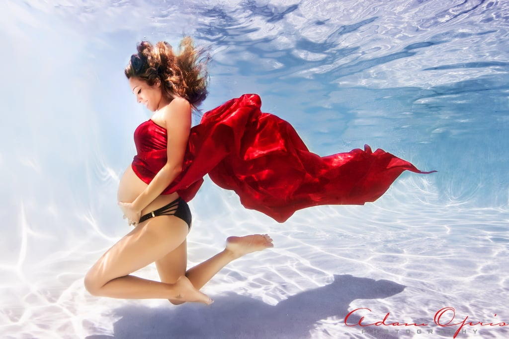 Beautiful Underwater Maternity Photos