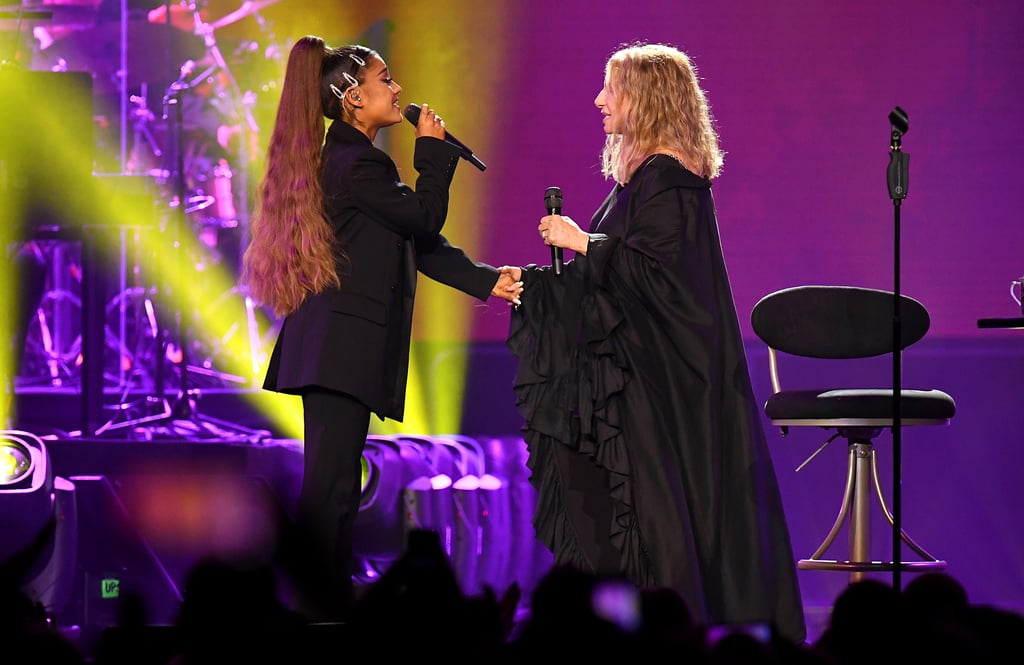 "Ariana Grande's Childhood Dream Came True Singing With Barbra Streisand: ""The Best Night of My Life"""