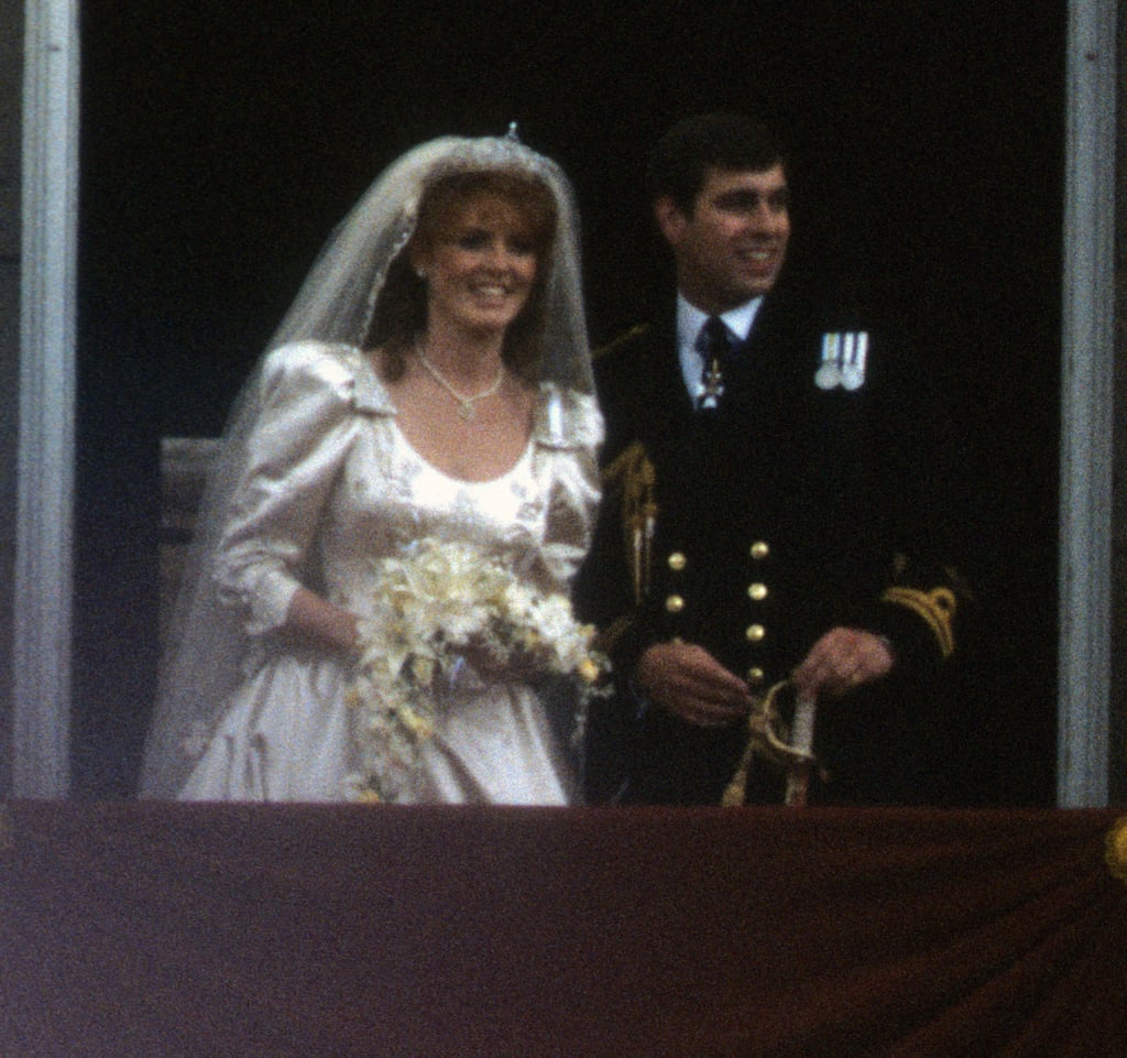 Sarah Ferguson and Prince Andrew in 1986
