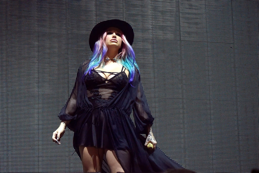 Kesha performed with Zedd in 2016.