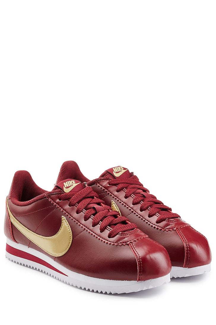 we 39 ve been spotting the new nike cortez a sort of modern spin on the spring shopping guide. Black Bedroom Furniture Sets. Home Design Ideas