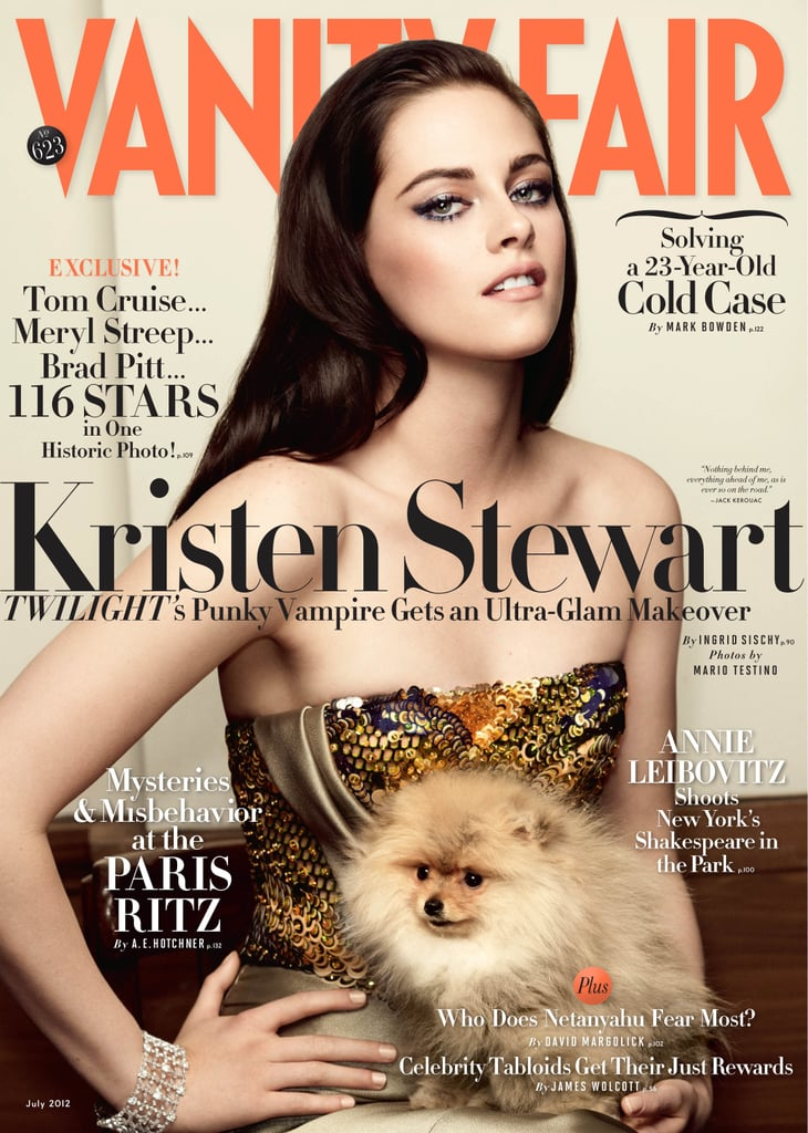 Kristen Stewart got sexy sleek for the July 2012 Vanity Fair cover.