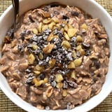High-Protein Black Bean Brownie Overnight Oats
