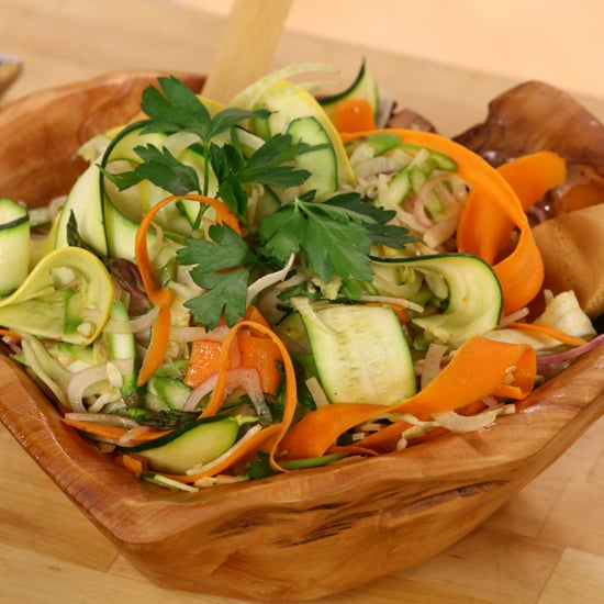 Ribboned Summer Vegetable Salad | Video