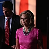 Ann Romney and Michelle Obama at Presidential Debate Two