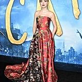 تايلور سويفت خلال العرض العالمي الأول لفيلم Cats في نيويورك