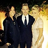 Derek and Julianne Hough partied together. Source: Instagram user derekhough