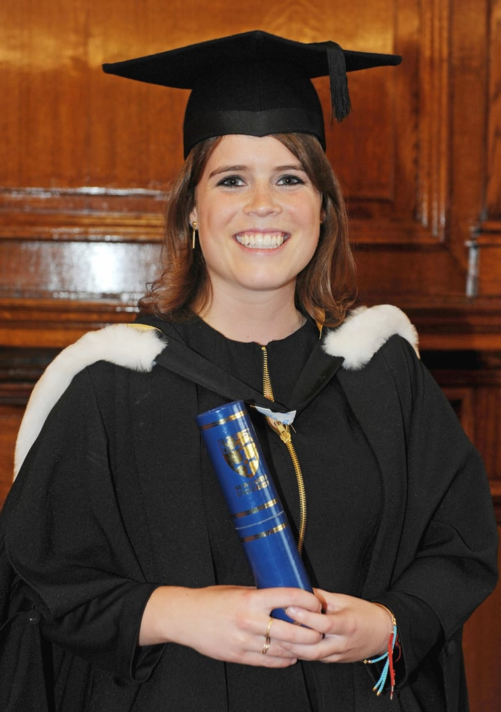 Princess Eugenie graduated from uni!