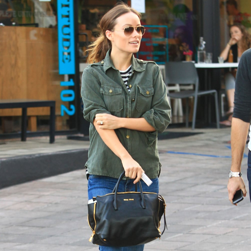 Olivia Wilde's Pregnant Style