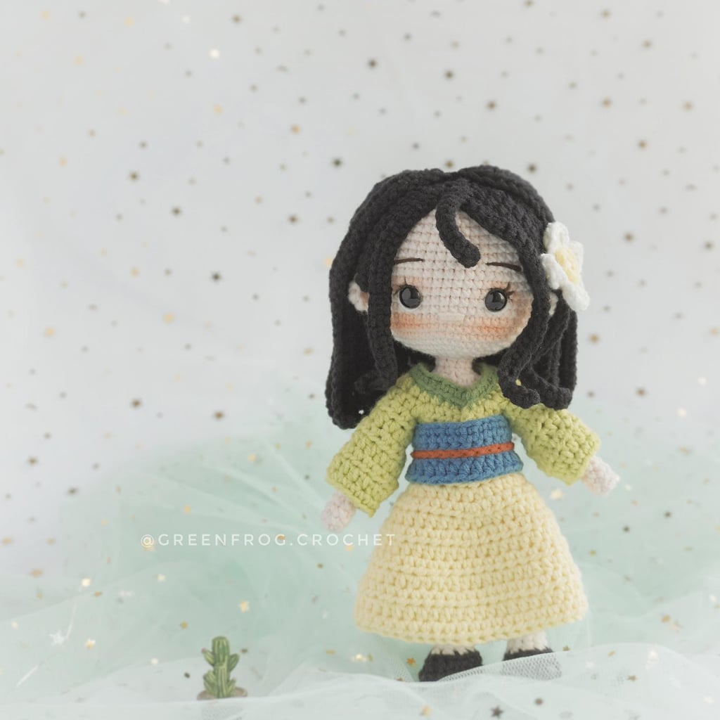 Disney Princess Doll Crochet Pattern — Mulan