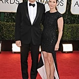Jason Bateman and Amanda Anka hit the red carpet together.