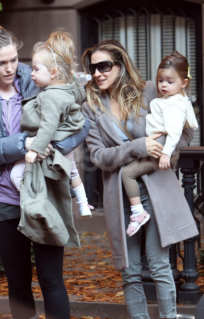 Sarah Jessica Parker was out in NYC with her twins Loretta and Tabitha.