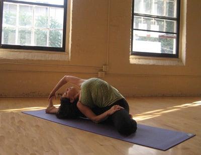 Strike a Yoga Pose:  Gate