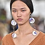 Fall Jewelry Trends 2020: Shoulder-Grazing Earrings