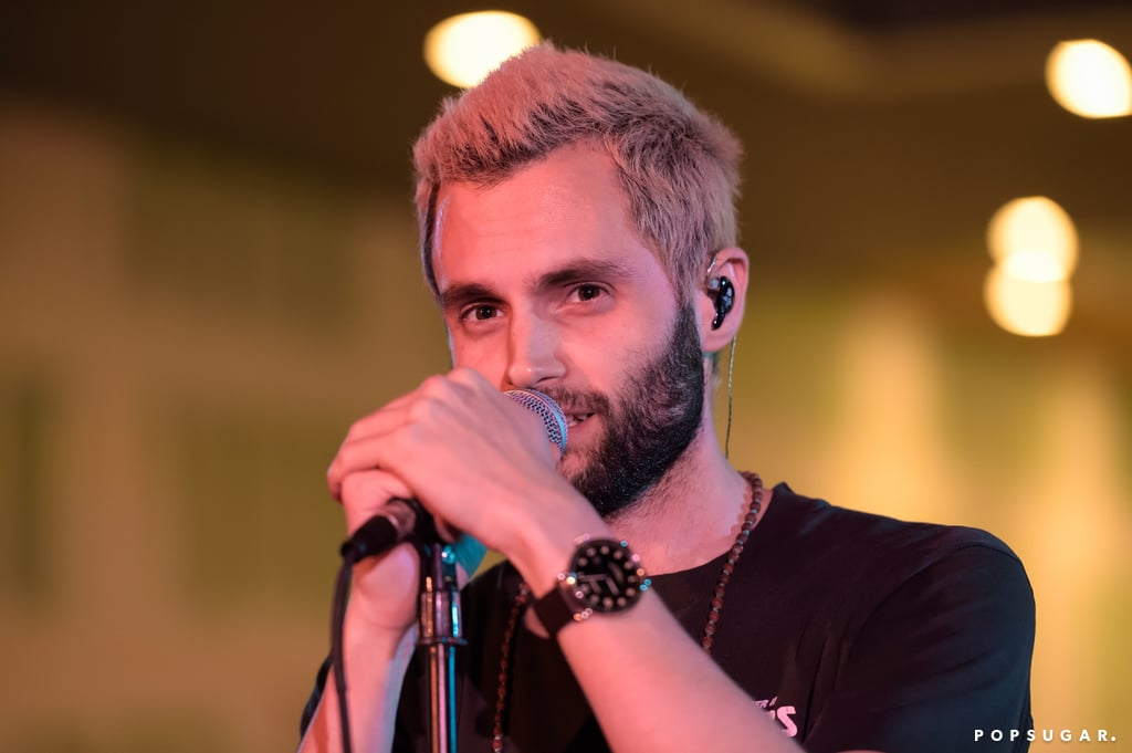 If you're a fan of Gossip Girl, then you'll probably have very strong feelings about Penn Badgley's new look. The 30-year-old actor, who is known for playing Dan Humphrey in the series, is looking almost unrecognizable these days. Penn showed off his new look when he took to the stage with his band MOTHXR during a performance at Miami's Art Basel festival in Florida on Monday. Not only did he show off some major scruff, but he practically pulled a Jenny Humphrey with platinum blond locks. While it's definitely going to take a while to get used to, we're not completely against it.      Related:                                                                                                           Gossip Girl: Where Are the Stars Now?