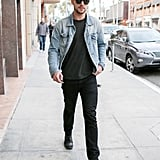 Nicholas Hoult Out in LA January 2016