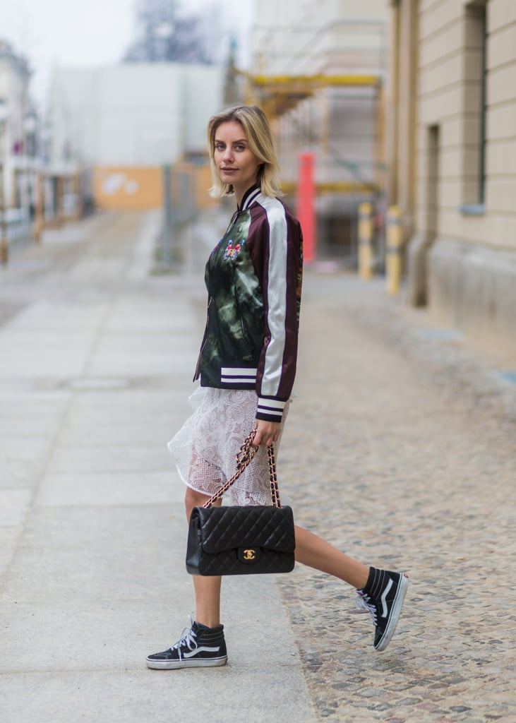 The Trainers Work For High-Low Outfits