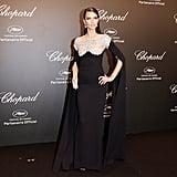 Adriana Lima's Diamond-Inspired Look