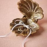 Anthropologie Gilded Seashell Ring Holder