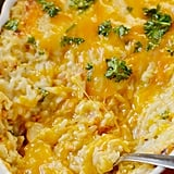 Ham and Cheese Baked Rice Casserole